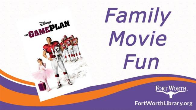 Family Movie Fun - The Game Plan | Kids Out and About Ft  Worth